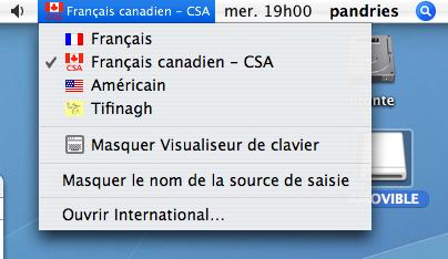 logiciel clavier tifinagh